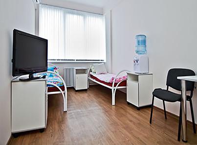 Медицинский центр в реабилитационном центре