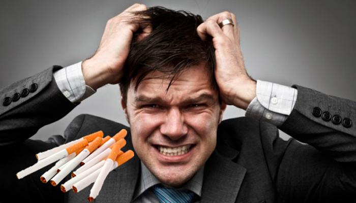 Невроз из-за никотиновой зависимости