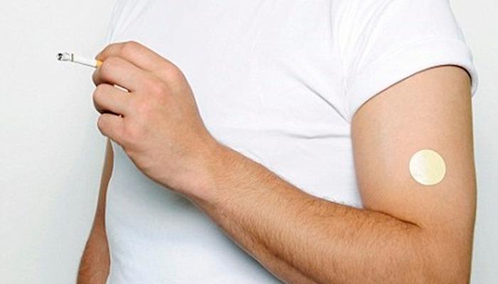 Никотиновый пластырь для борьбы с курением