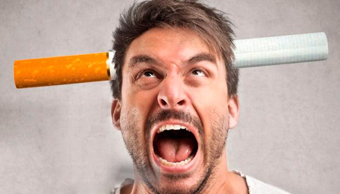 Раздражительность во время синдрома отмены курения