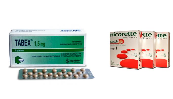 Средства для избавления от табачной зависимости