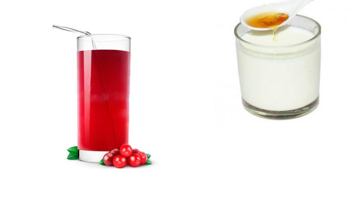 Стакан морса или молока с медом перед сном для лечения привязанности к пиву