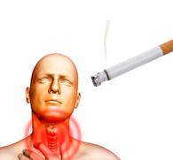 По какой причине болит горло после курения сигарет