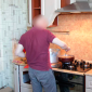 Кухня в реабилитационном центре «Открытие» (Волгоград)