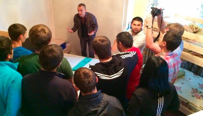 Лекция для постояльцев в реабилитационном наркологическом центре «Ориентир» (Иркутск)