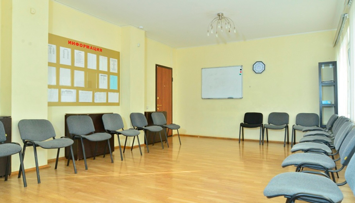 Зал для занятий в реабилитационном наркологическом центре «Вершина» (Воронеж)