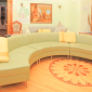 Гостиная в реабилитационном наркологическом центре «Решение» (Йошкар-Ола)