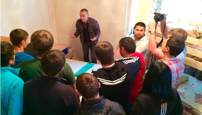 Лекция для постояльцев в реабилитационном центре «Решение» (Волгоград)