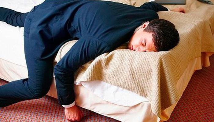 Состояние переутомления в следствии употребления снотворных веществ