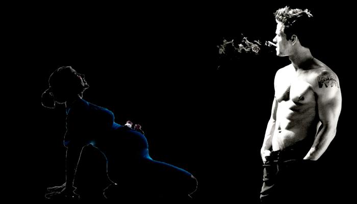 Пассивное курение беременной