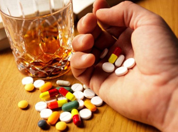 Совмещение Феназепама с алкоголем
