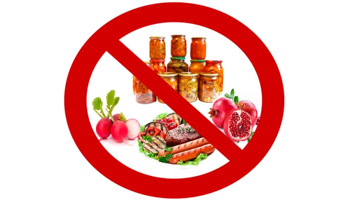 Запретная еда для людей страдающих циррозом печени