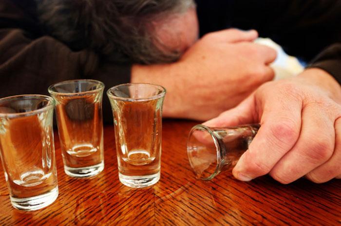 Количество выпитого спиртного прямо влияет на результат