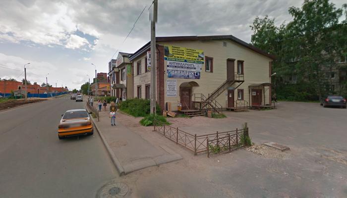 Расположение медицинского центра «Веста» (Санкт-Петербург)