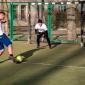 Игра постояльцев в футбол в наркологическом центре «Город свободы» (Ярославль)