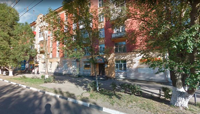 Расположение наркологической клиники «Дара» (Самара)