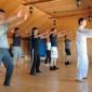 Занятия постояльцев спортом в наркологическом центре «Наркостоп» (Ярославль)