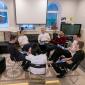 Групповые занятия постояльцев в наркологическом центре «Первый Шаг» (Калуга)