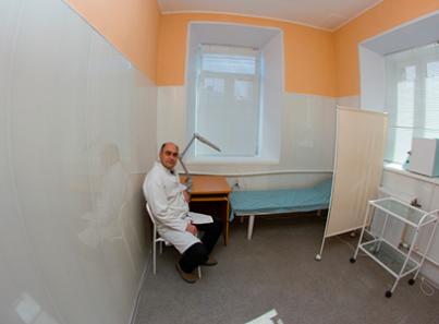 Манипуляционная в наркологическом кабинете доктора Хаирова (Уфа)