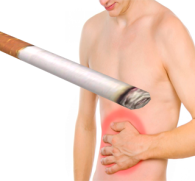Почему после курения болит живот - основные причины