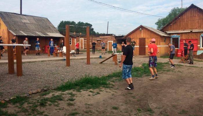 Территория реабилитационно оздоровительного центра «Счастье» (Красноярск)