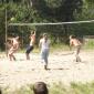 Игра постояльцев в волейбол в реабилитационном центре «Решение» (Казань)