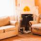 Гостиная в реабилитационном центре «Горизонт» (Кемерово)