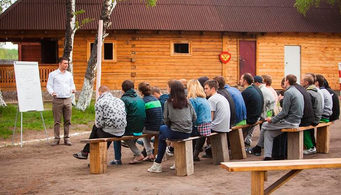 Лекция для постояльцев в реабилитационном центре «Горизонт» (Кемерово)