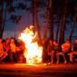 Отдых постояльцев в реабилитационном центре «Горизонт» (Кемерово)