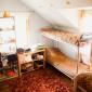 Спальня в реабилитационном центре «Горизонт» (Кемерово)