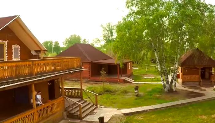 Территория реабилитационного центра «Горизонт» (Кемерово)