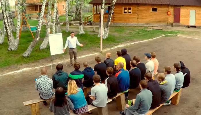 Лекция для постояльцев в реабилитационном центре «Горизонт» (Ярославль)