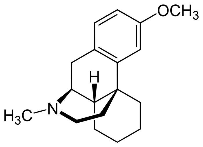 Химическая формула декстрометорфана