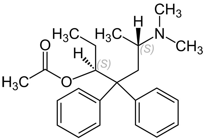 Химическая формула левацетилметадола