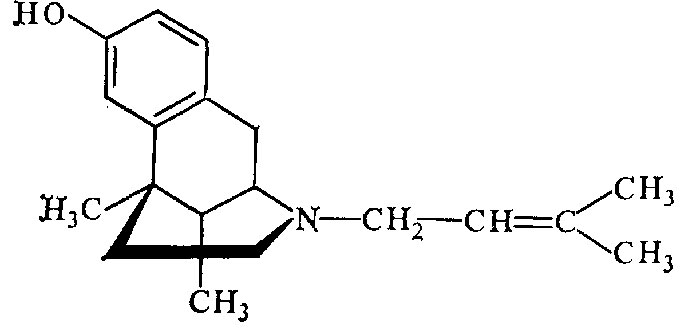 Химическая формула пентазоцина