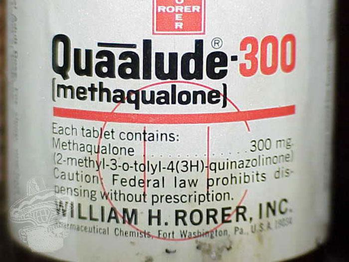 Quaalude - торговое название метаквалона