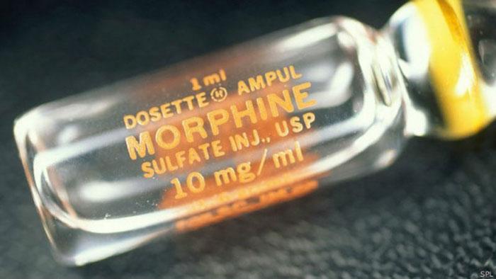 Морфин - один из сильнейших анальгетиков