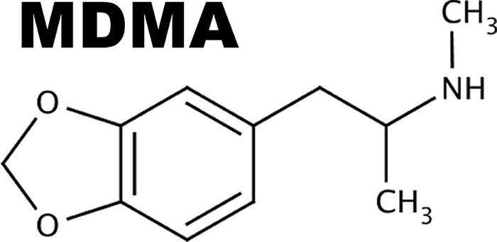 Химическая формула MDMA