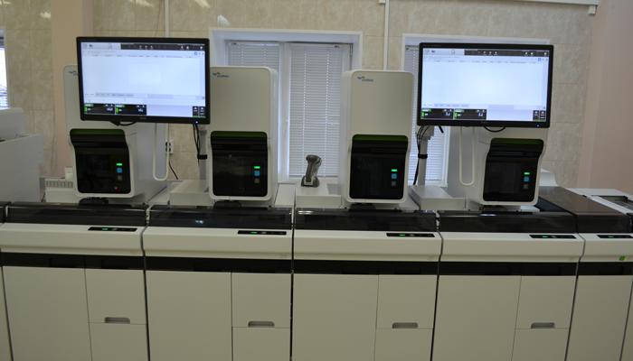 Лаборатория для проведения анализа на содержание наркотических веществ в крови