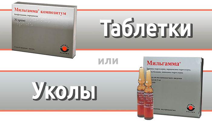 Мильгамма в уколах и таблетках при алкоголизме