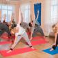 Занятия постояльцев спортом в наркологическом центре «Решение» (Чита)