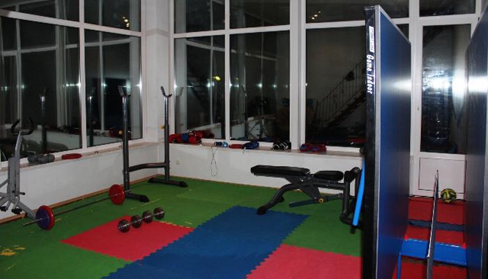 Спортзал в наркологической клинике «Помощь» (Харьков)
