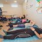 Спортивные занятия постояльцев в реабилитационном центре «Инсайт» (Чебоксары)