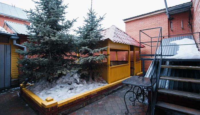 Двор реабилитационного центра «Перспектива» (Челябинск)