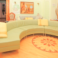 Гостиная в реабилитационном центре «Решение» (Чебоксары)