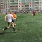 Игра постояльцев в футбол в реабилитационном центре «Вершина» (Челябинск)