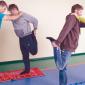 Спортивные занятия постояльцев в реабилитационном центре для наркозависимых «Мечта» (Чита)