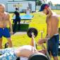 Занятия постояльцев спортом в реабилитационном центре «Становление» (Якутск)