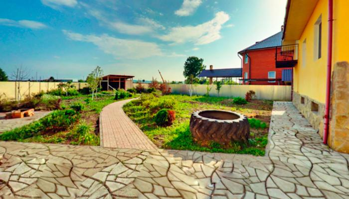 Двор реабилитационного центра «Инсайт» (Челябинск)