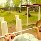 Спортивные занятия постояльцев в реабилитационном центре «Горизонт» (Чебоксары)